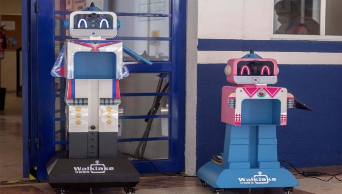 Benebot robot COVID-19