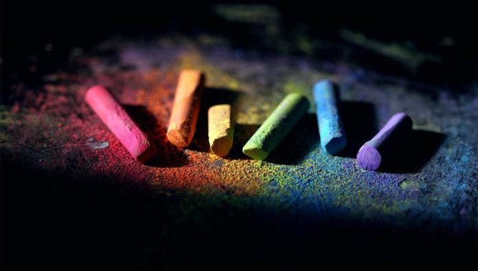 Gises de colores