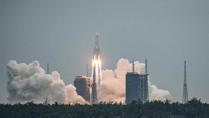 Cohete chino Long March 50B
