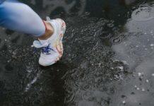 Correr bajo la lluvia