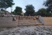 Daños en templos de Israel