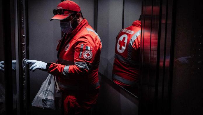 Miembro de la Cruz Roja