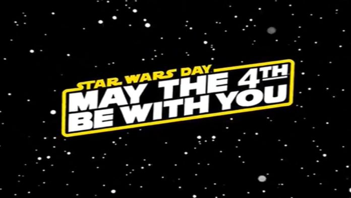 Logo de may the 4th be with you