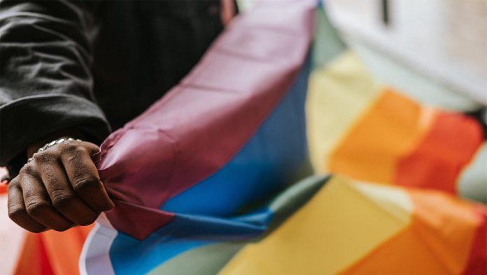 Bandera de la población LGBT