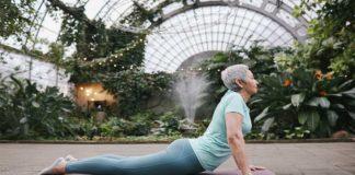 Estiramientos de yoga