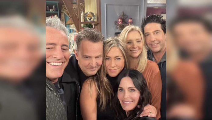 Foto de la reunión de Friends