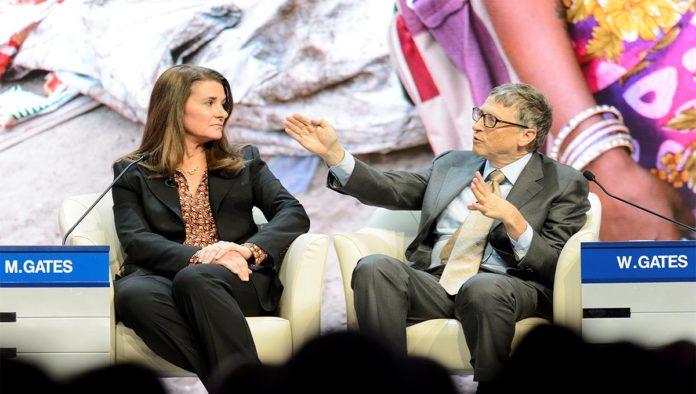 Melinda y Bill Gates