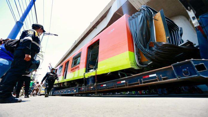 Tren retirado de la Línea 12