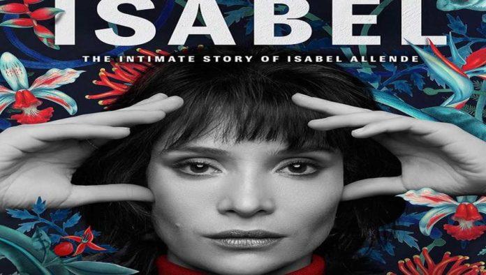 Póster de serie sobre Isabel Allende