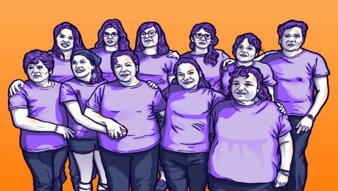 Mujeres denunciantes de los hechos de Atenco