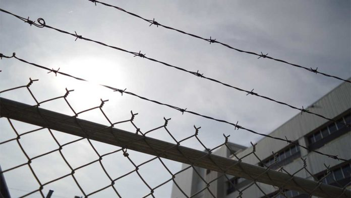 Rejas de la prisión