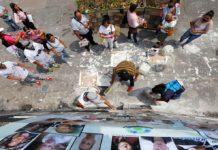 Madres protestan por desaparecidos