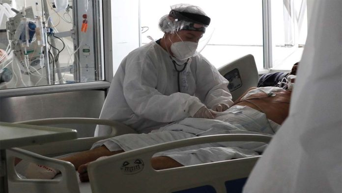 Paciente con mucormicosis