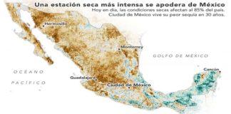 México en sequía