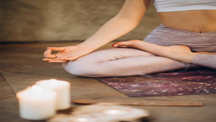 Posiciones de yoga para descansar
