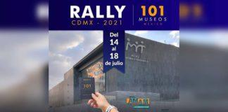 Rally 101 Museos de la CDMX