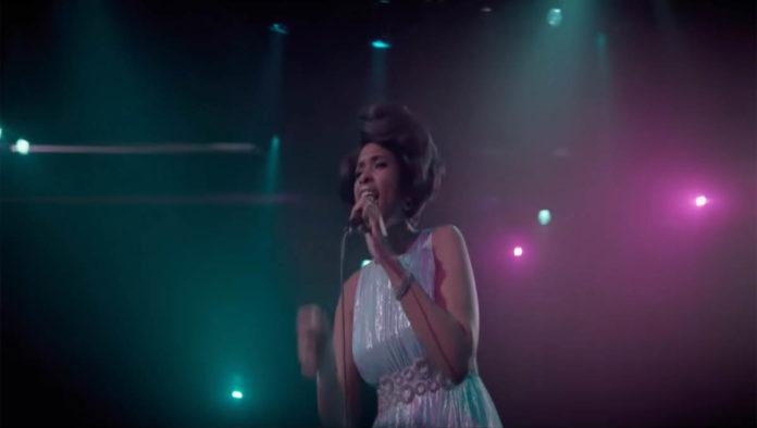 Escena de la biopic de Aretha Franklin