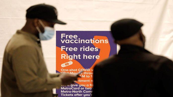 Vacunación gratis en NY