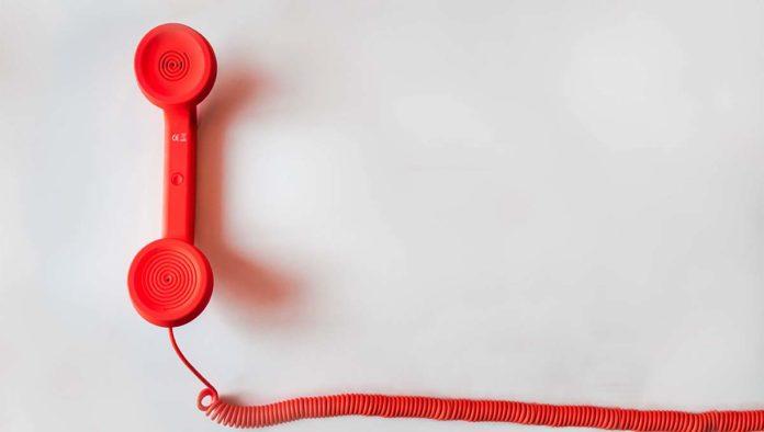 Teléfono para hacer vishing