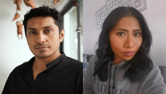 Tenoch Huerta y Yalitza Aparicio