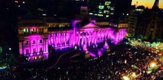 """Se cumplen seis años del movimiento """"Ni una menos"""" en Argentina"""