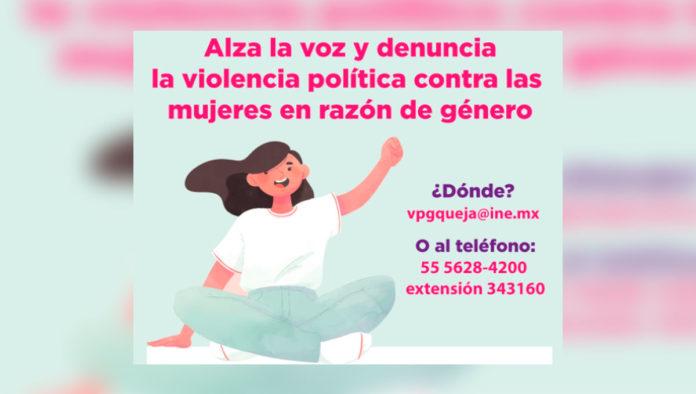 Violencia política por razones de género