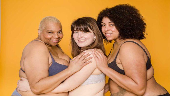 Mujeres del movimiento body positive