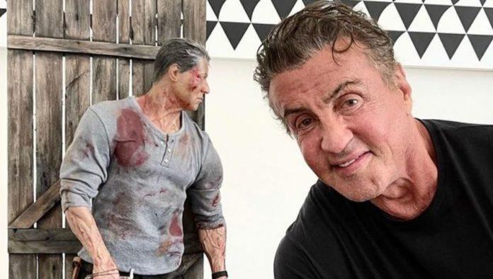 El duro entrenamiento de Sylvester Stallone... ¡a sus 74 años!