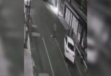 Video de atropello