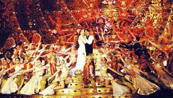 Escena de Moulin Rouge
