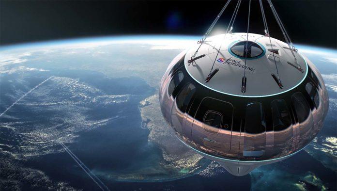 Globo para el espacio