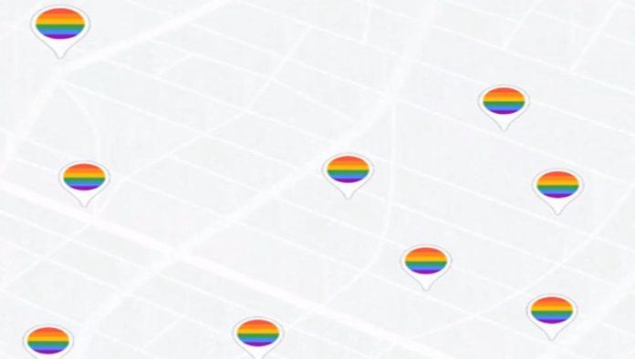 Google Maps con baños sin género