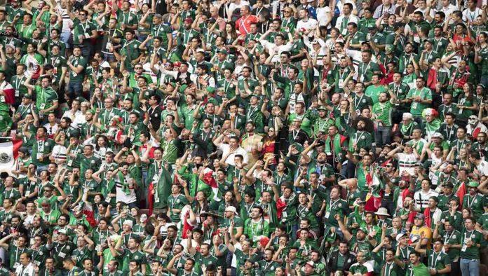 Aficionados de la Selección Mexicana