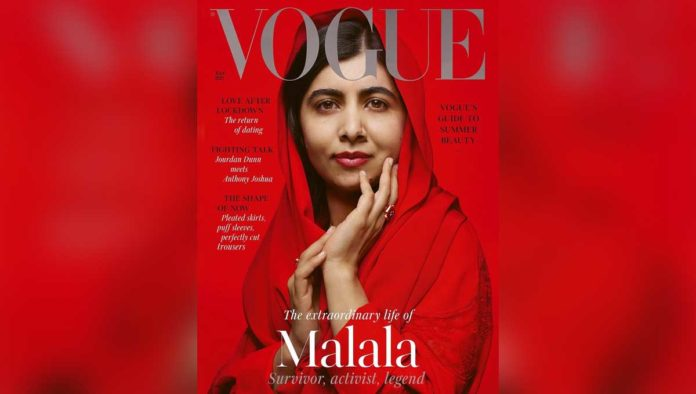 Portada con Malala