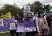 Marcha para exigir justicia por ataque a Polly y Fernanda