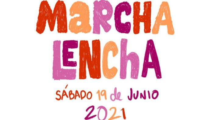 Cartel Marcha Lencha 2021