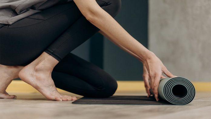 Mujer que hará ejercicio