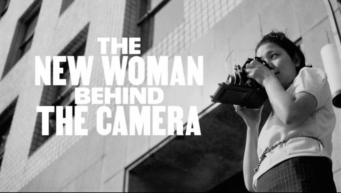 Póster de The new woman behind the camera