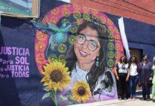 Mural de María del Sol Jarquín