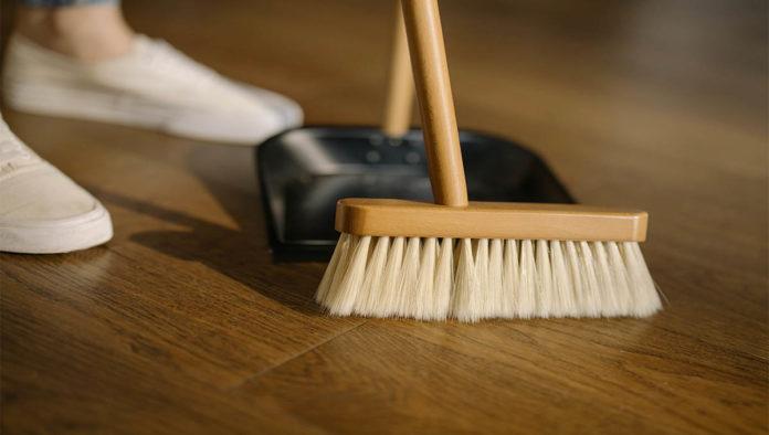 Una trabajadora doméstica