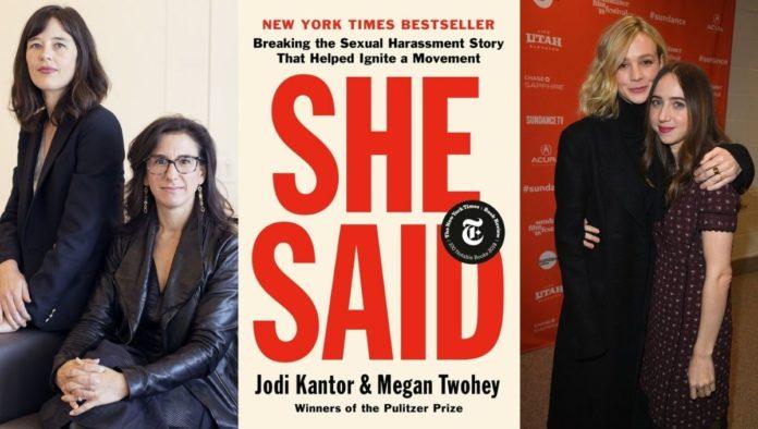 """She Said"", película sobre las periodistas que revelaron abusos de Harvey Weinstein"