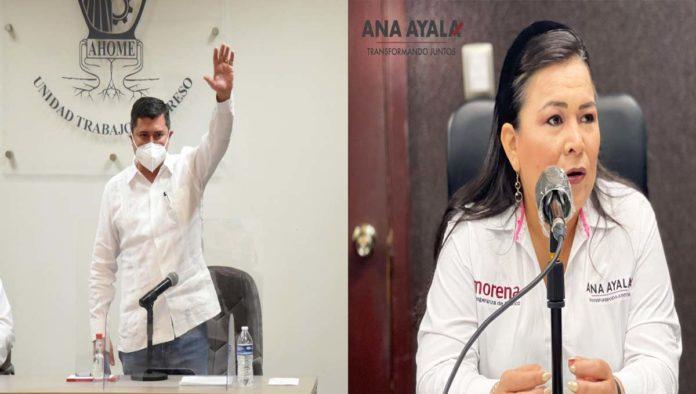 Billy Chapman y Ana Ayala