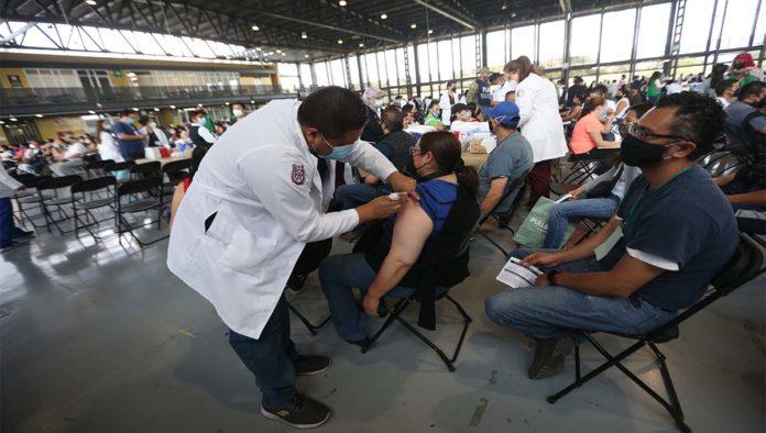 Vacunación de personas a 40 a 49 años