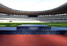 Podio de los Juegos Olímpicos