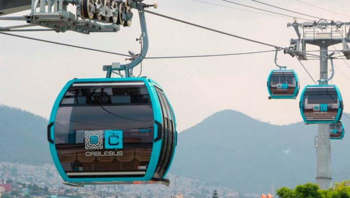 Inauguran Línea 1 del Cablebús que recorre de Indios Verdes a Cuautepec