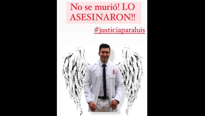 Tras asesinato de médico pasante, exigen que se garantice la seguridad y dignidad de quienes hacen su servicio social