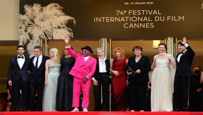 Alfombra roja en Cannes