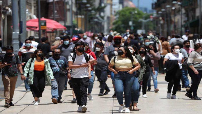 Personas con COVID-19 en México