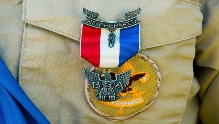 Medalla de los Boy Scouts