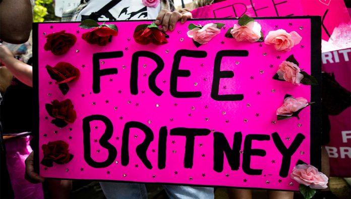 Cártel en apoyo de Britney Spears